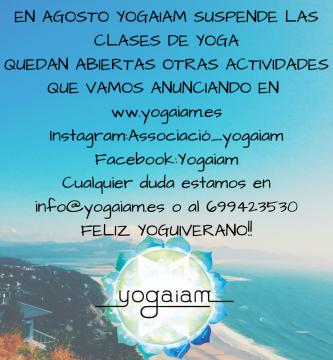 vacaciones yogaiam
