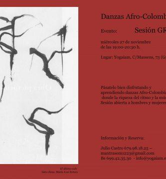 afiche danzas caribeñas