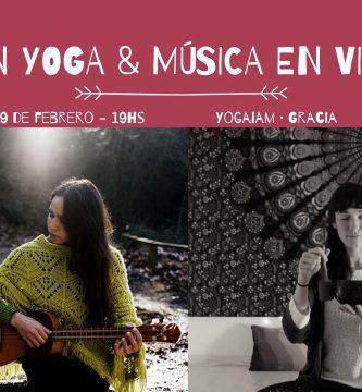 yin yoga y musica