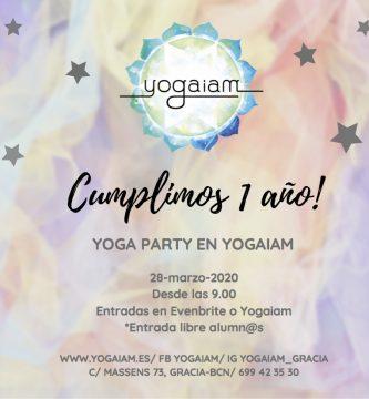 party yoga yogaiam