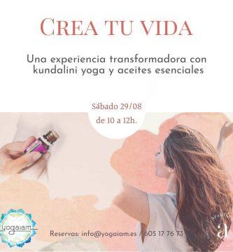 kundalini y aceites esenciales Yoga Gracia Barcelona